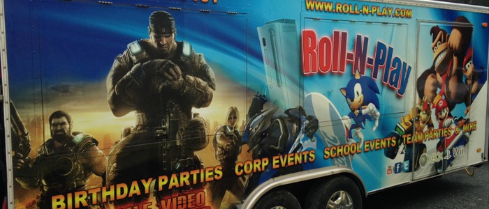 Roll N Play Mobile Game Truck